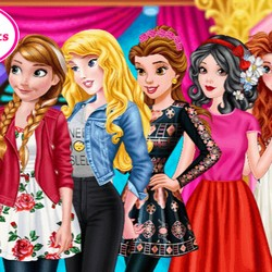 barbie princess style game